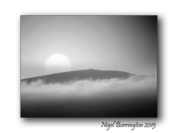 Sunrise above the Mountain Irish landscape Photography Nigel Borrington