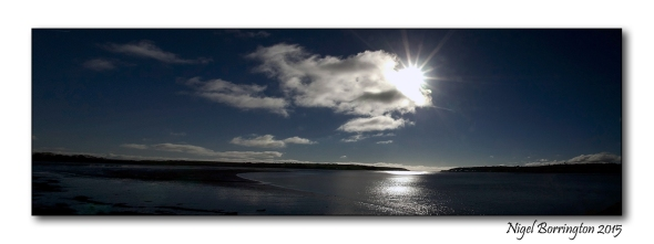 Black water river at Youghal, county cork. Landscape photography : Nigel Borrington