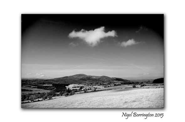 Irish Mountains Slievenamon landscape
