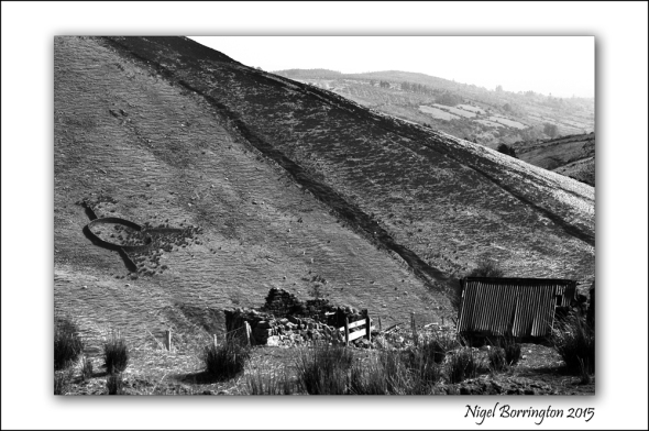Irish Mountains the shed