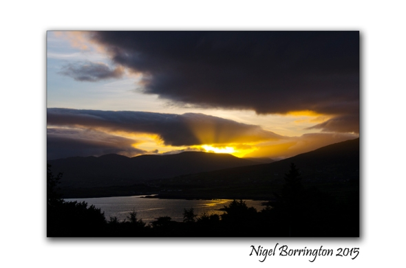 Sunrise at Cahirkeen Cross Beara peninsula Irish Landscape Photography : Nigel Borrington