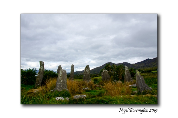 Canfea stone circle West Cork
