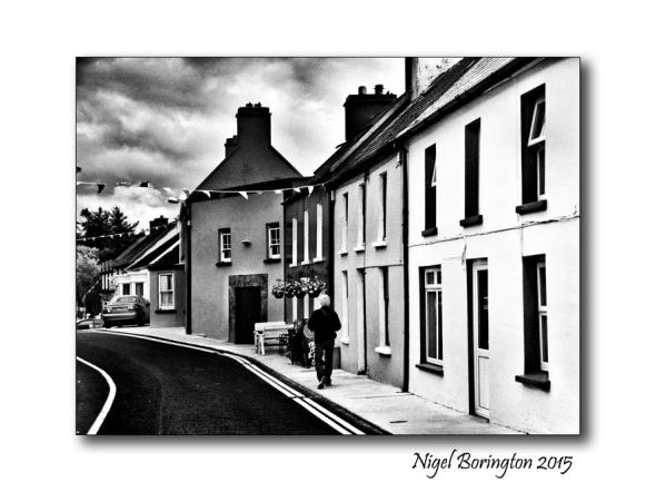 Walking to work Eyeries County Cork