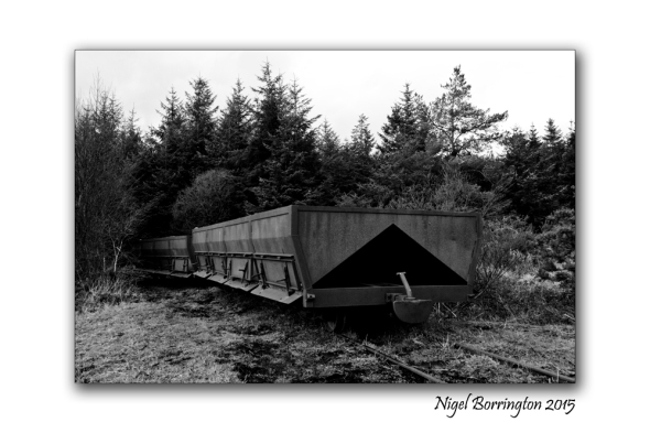 Peat train Littleton bog