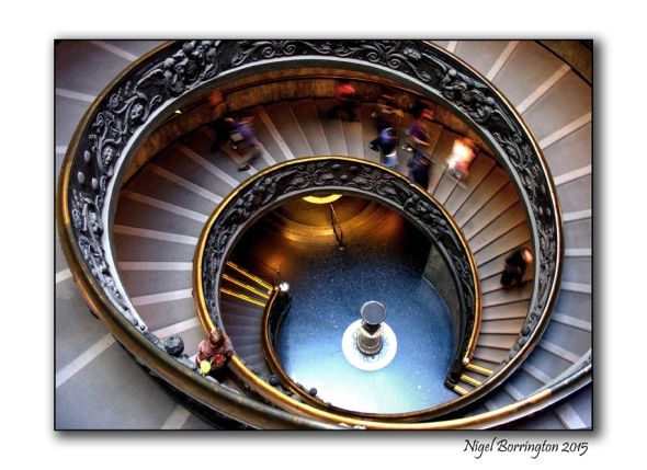 Bramante Staircase Vatican Museums  Vatican City State; Nigel Borrington