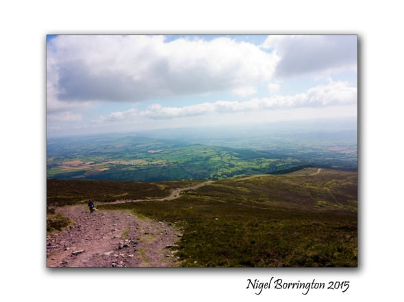 Slievenamon, County Tipperary , Rock Balancing on the top of the Mountain 04
