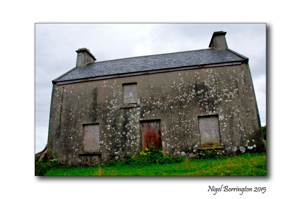 Ghost house Irish landscapes Nigel Borirngton