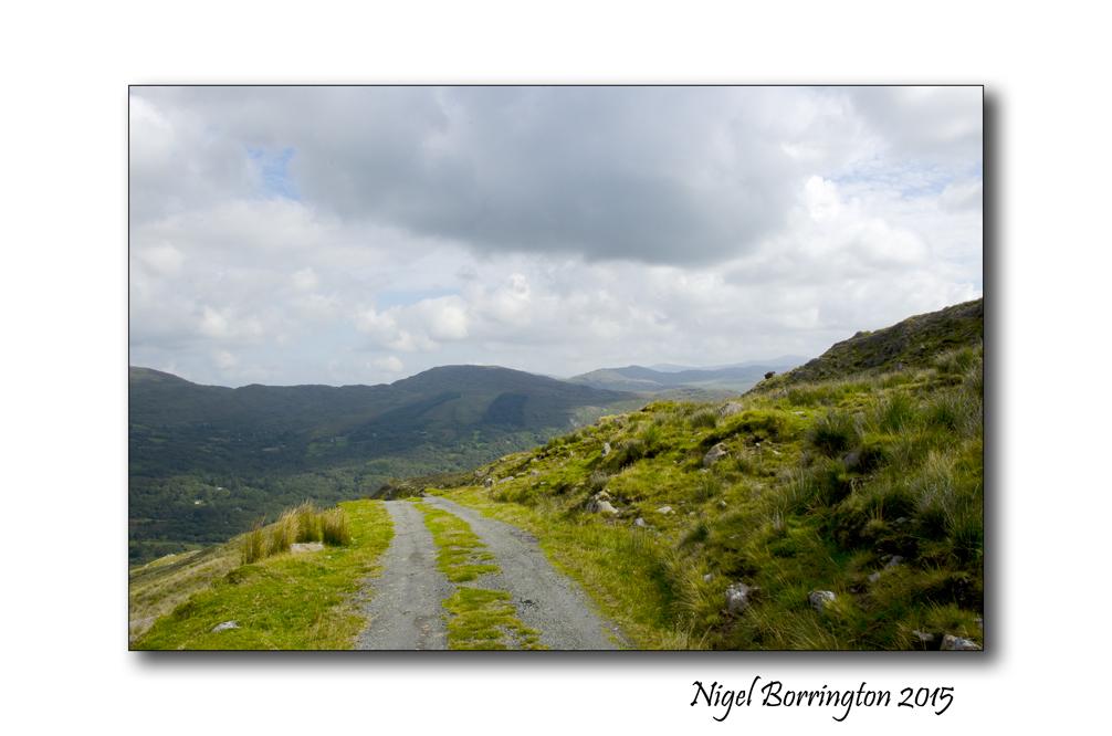 Irish Landscapes West cork Mountains Nigel Borrington