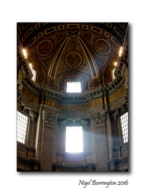 Light o the Heavens St Peters Rome 1