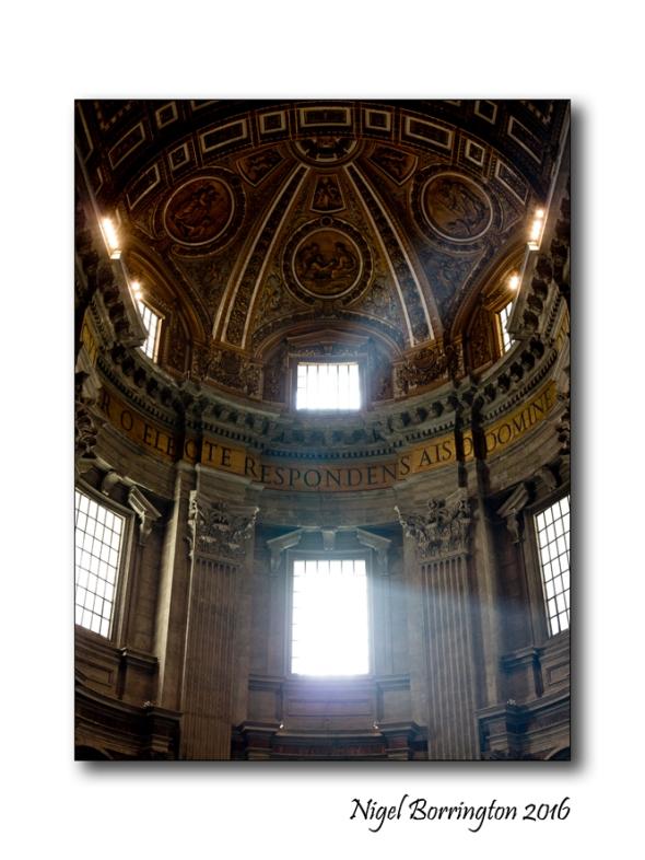 Light o the Heavens St Peters Rome 1
