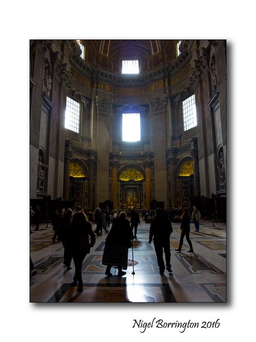 Light o the Heavens St Peters Rome 3