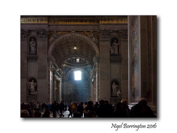 Light o the Heavens St Peters Rome 4
