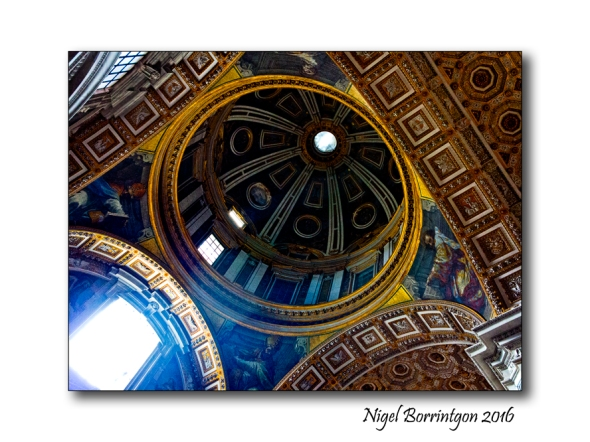 Light o the Heavens St Peters Rome 5