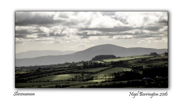 The Mountain of Slievenamon  County Tipperary Ireland Nigel Borrington