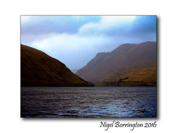 Killary Harbour/An Caoláire Rua Irish Landscape  Nigel Borrington