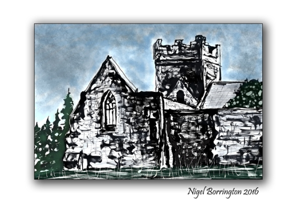 Sketches of Ireland Kilcooley Abbey Tipperary Nigel Borrington