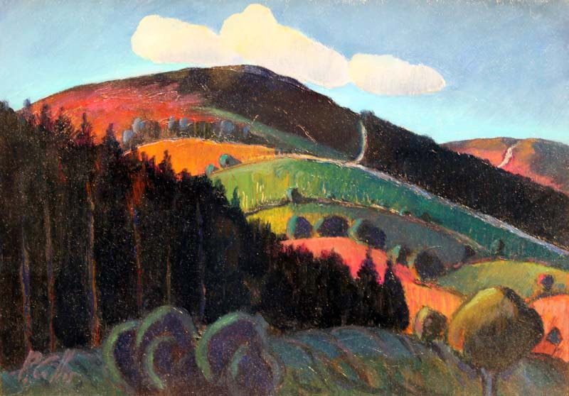 Glencrea Valley by Peter Collis RHA