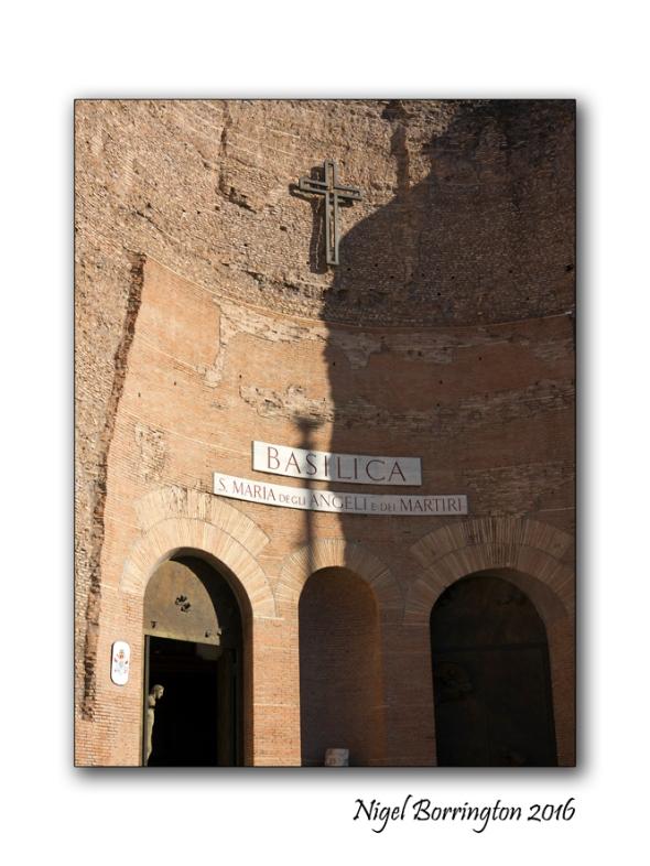 Basilica S Maria Degli Angelie  Rome Nigel Borrington