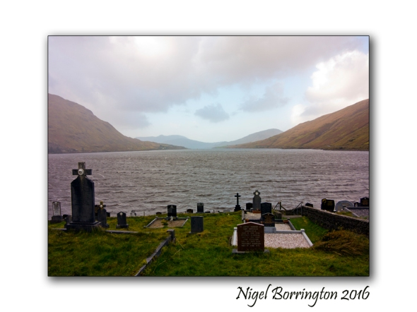 Crossing The Bar - Poem by Alfred Lord Tennyson Irish Landscapes Nigel Borrington