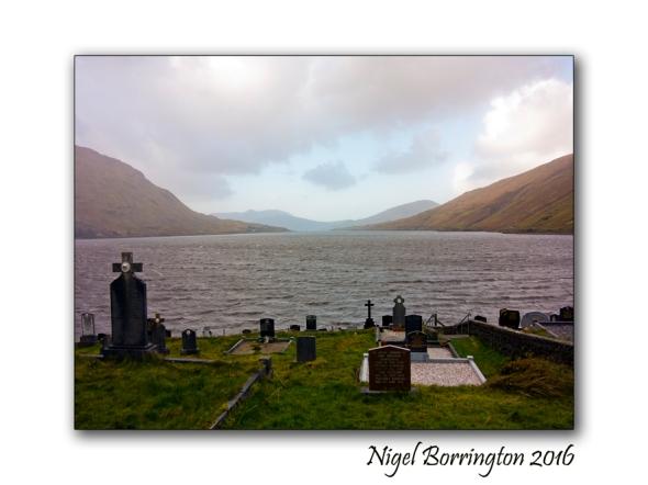 Crossing The Bar - Poem by Alfred Lord Tennyson Irish Landscapes Nigel Borrington
