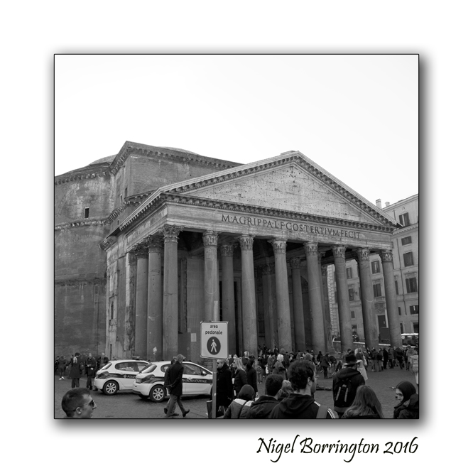 Pantheon Rome Nigel Borrington 03