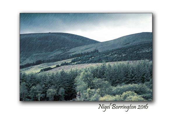 Foothills of Slievenamon Irish Landscape images Nigel Borrington