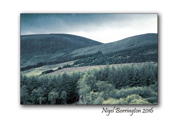 Foothills of Slievenamon Irish Landscape images Nigel Borrington