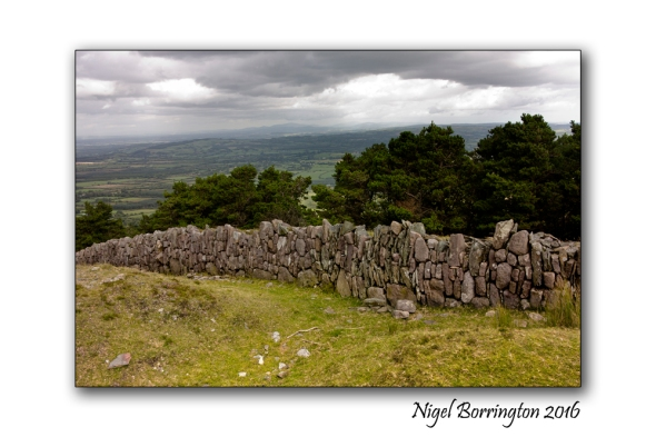 Irish Landscapes The Wall, Sleivenamon , Tipperary Nigel Borrington