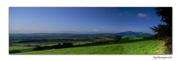 The Valley Of Slievenamon Irish Landscape Images Nigel Borrington