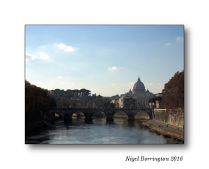 River Tiber Rome Nigel Borrington