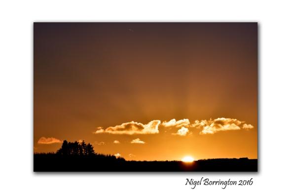 Kilkenny Landscape images Last light of the day  Nigel Borrington