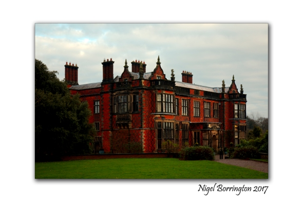Arley Hall  country house  village of Arley, Cheshire, England,