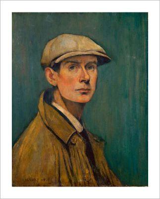 LS Lowry Self portrait 1925