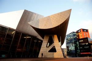 The Lowry Gallery Salford Manchester, UK