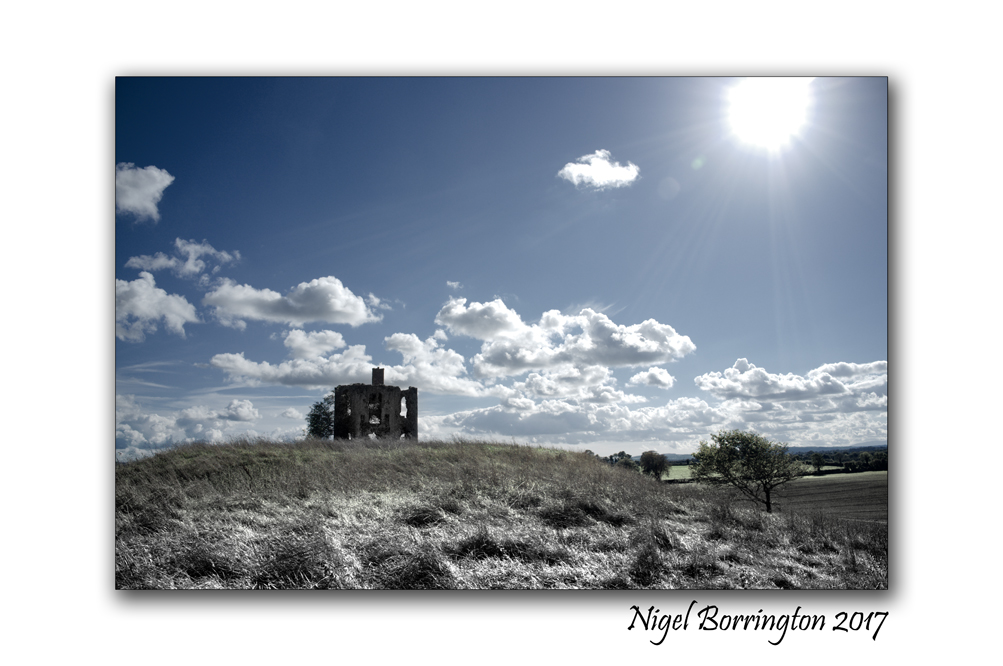 The Old house on the hill County Kilkenny  Ireland Nigel Borrington