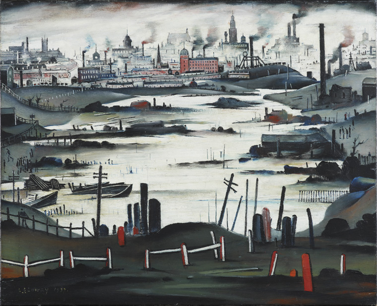 The Lake L S Lowry