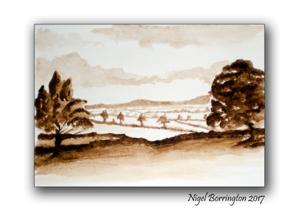 Watercolour Sketch County Kilkenny Ireland