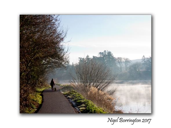 A winters morning The river Suir County Tipperary February 2017  Nigel Borrington