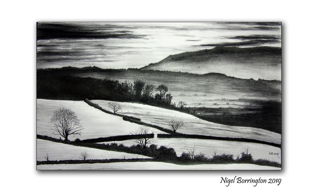 county kilkenny landscape art ballycuddihy nigel borrington 2019 1